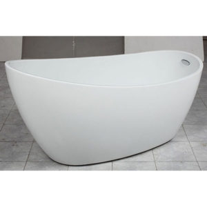 Free-Standing-Free-Standing-Bath-tub-acrylic-E-140-ZRJ-Bathroom-and-Kithcen-White 3