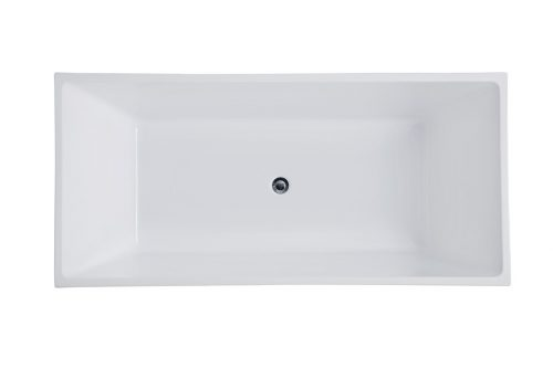 Free Standing Bath M708 Top view