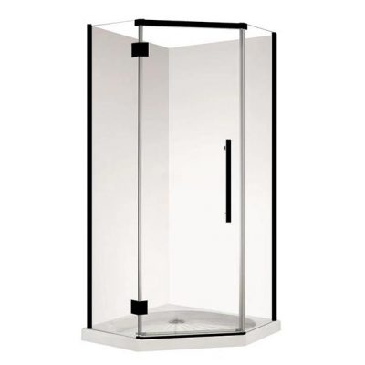 Diamond/Corner Shower box- Black
